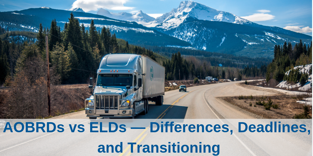 AOBRDs vs ELDs — Differences, Deadlines, and Transitioning