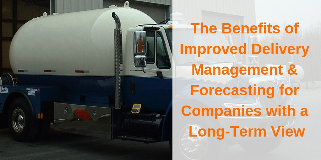 The Benefits of Improved Delivery Management & Forecasting for Companies with a Long-Term View