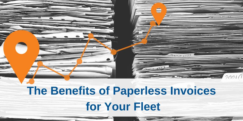 Vertrax | Benefits of Paperless Invoices for Fleet Management